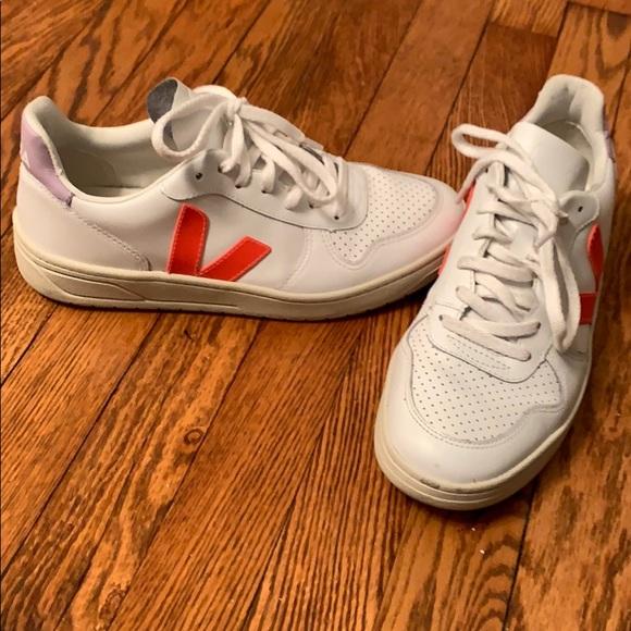 Size 39us 8 Veja X Madewell V Leather